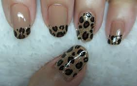 leopard print nail art youtube