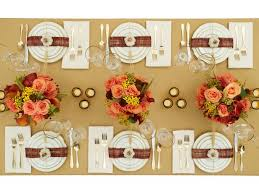 Table Decorating Ideas How To Decorate For Thanksgiving Amusing 40 Easy Diy Thanksgiving