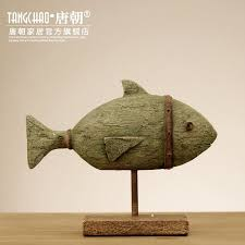 american scandinavian home decorations ornaments stand fish living