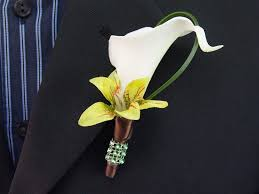 how to make boutonnieres how to make a calla boutonniere