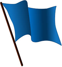 Blue White And Black Flag File Blue Flag Waving Svg Wikimedia Commons