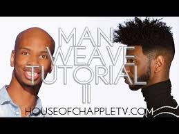 men hair weave pictures man weave 2 tutorial youtube
