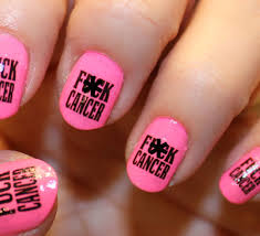 breast cancer nail design images skin and nail care