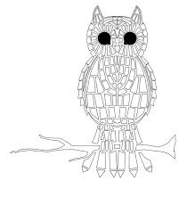 printable mosaic coloring pages mosaic coloring pages free