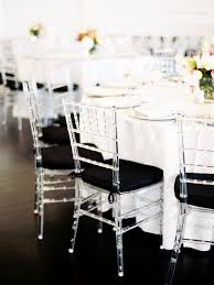 black chiavari chairs black and lucite chiavari chairs at reception elizabeth