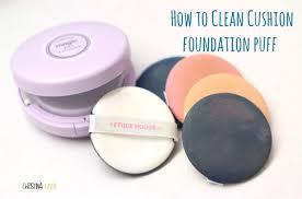 how to clean bb cushion puff u2013 christinahello