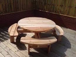heavy duty round picnic table round picnic table pub bench patio furniture heavy duty 4 or 8
