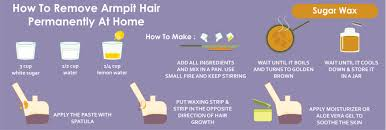 how to remove armpit hair permanently at home wound care society