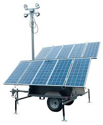 solight 1500 solar light tower ideal for border security