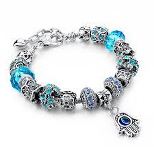 evil eye charm bracelet images Melihe fashion hamsa charms bracelet for women evil eye beads diy jpg