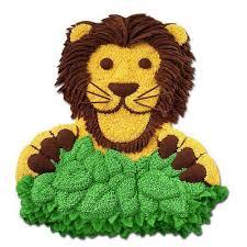 lion in wait cake wilton