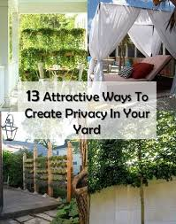 Create Privacy In Backyard by Recipes Projects U0026 More Garden
