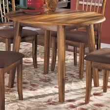Ashley Furniture Kitchen Tables Ashley Furniture Berringer Hickory Stained Hardwood Round Drop