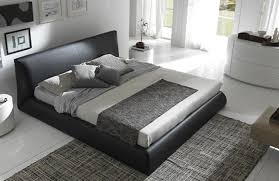 Italian Leather Bedroom Sets Luxury Made In Italy Leather Elite Platform Bed New York New York