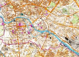 Berlin Map Incredibly Detailed Soviet Map Of Berlin Showing A Section Of The