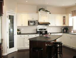 kitchen large natural wood kitchen cabinet with black marble