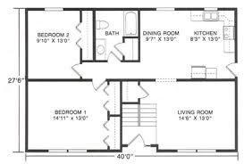 2 bedroom ranch floor plans 2 bedroom floor plans ranch homes floor plans