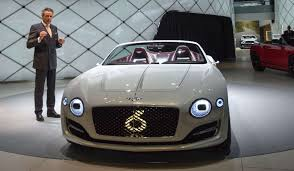 old white bentley bentley u0027s first ever electric concept car is a luxury fever dream