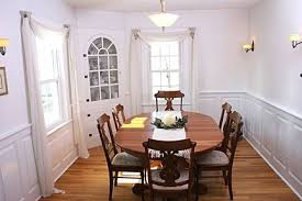Wainscoting Dining Room Hand Made Dining Room Custom Wainscoting U2013 Oxford Style By Intrig