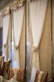 Photo Backdrop Collection In Burlap And Lace Curtains And Top 25 Best Burlap