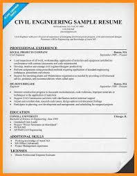 Resume Format For Diploma In Civil Engineering 6 Sample Resume Of Civil Engineer Azzurra Castle Grenada