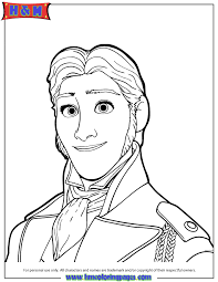 portrait hans coloring hm coloring pages misc