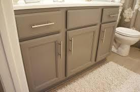 Painting Bathroom Vanity by How To Paint Bathroom Cabinets Dark Brown Bar Cabinet