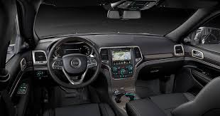 jeep cherokee black 2015 2015 jeep grand cherokee comfortable interior features