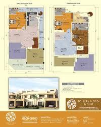 floor plan of 200 square yards bahria homes u2013 bahria town karachi