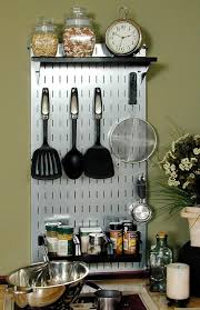 Organization Ideas For Kitchen by 42 Best Kitchen Pegboard Images On Pinterest Kitchen Pegboard