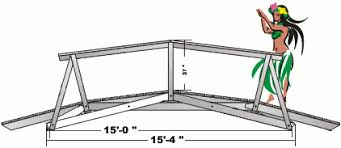 wooden bridge plans 2060 a very versatile and scaleable bridge design for spans up to 50