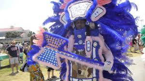 black mardi gras black mohawks and black fox hunters mardi gras indians at new