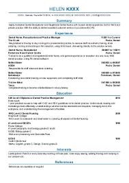 Nursery Nurse CV template   Dayjob happytom co
