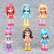 aliexpress buy 6pcs 8cm polly pockets princess lovely doll