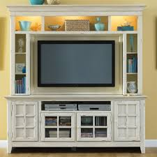 Entertainment Storage Cabinets Coastal Style Entertainment Console With Storage By Liberty