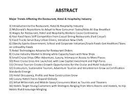 restaurant hotel u0026 hospitality industry almanac 2016 restaurant ho u2026