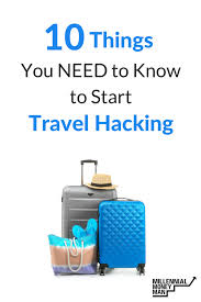 Travel Hacking images 10 things you need to know to start travel hacking png