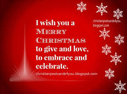i wish you a merry to give and to embrace and