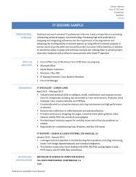 information technology resume sample information technology resume sample resume for your job application
