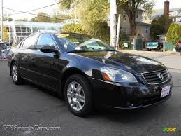 altima nissan black 2005 nissan altima 2 5 s in super black 924274 nysportscars