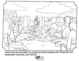 palm sunday coloring pages palm sunday bible coloring pages whats in