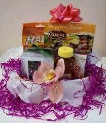 Soup Gift Baskets Get Well Gift Basket Tea Soup Honey Cough Drops Flower Socks