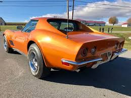 1972 corvette lt1 1972 chevrolet corvette rareoriginal smatchlt1w facta c 1of240