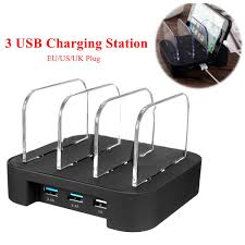 charging station organizer 3 port multi usb charging station organizer stand desktop charger