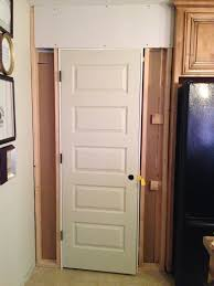Swinging Doors For Kitchen Building Kitchen Pantry On A Budget