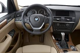 the new 2011 bmw x3 interior explained