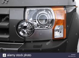 land rover 2007 lr3 2007 land rover lr3 hse in gray headlight stock photo royalty