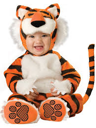 amazon com incharacter costumes baby u0027s tiger deluxe costume clothing