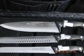 luxury kitchen knives steigenberger 24 chrome steel knife set in luxury box never