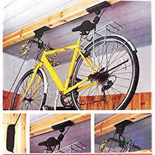 Racor Pbh 1r Ceiling Mounted Bike Lift by Amazon Com New Garage Bike Rack Ceiling Mounted Bicycle Hoist